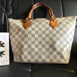 Louis Vuitton Saleya Damier Azur PM